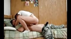 Amateur College Dorm Room Sextape
