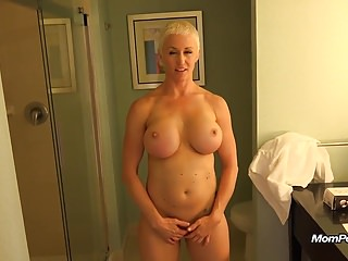 Busty MILF is a total freak