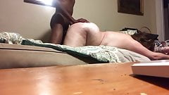 Pounding that BBW Pussy from Behind