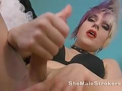 Punk Rock Shemale Veronica Venom