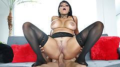 Gaby Garcia's HUGE ass fucked by HUGE cock