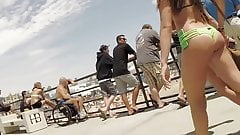 Teenage Bikini Asses