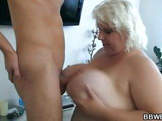Huge titted BBW slut gets fucked hard