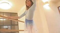 sexy ballet practice non nude.