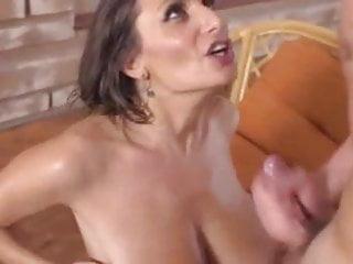 Huge Messy Cumshot On Tits