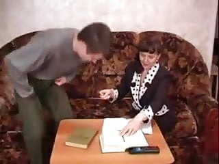 STP Horny Milf Tutor Needs A Fuck Before The Lesson !