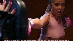 Wild lesbian box training