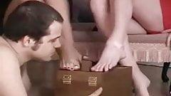 2 British Femdoms - Oral Shoeshine