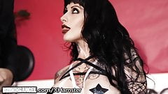BurningAngel Busty Goth Jessie Lee is Starved for This Cock