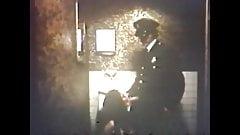 Cop bathroom blowjob