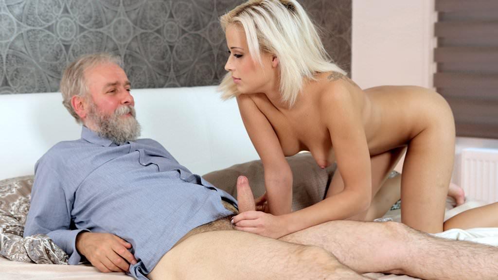 Blonde elder porn movie — photo 14