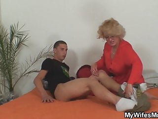 He is fucking old not mother inlaw