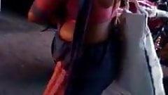 Hidden cam - Saree woman