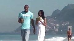 Marcelinha on the Brazilian Beach