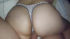 BUBBLE GUM THONG!! BIG ASS!! FUCKING MY SISTER!!