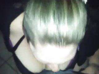 Irish Slut Sucks Cock In Dublin Nightclub