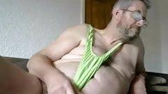 papi in green mankini
