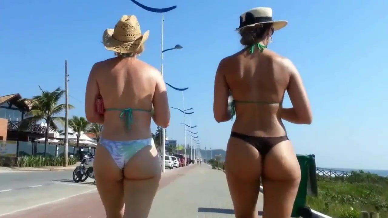 Hot Blonde Fucked Beach