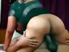 Mysterr - Big Ass Aunty Riding Cock Like A Whore