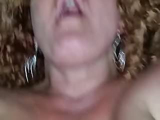 Slut Takes Married Cock in the ass as she talks to camera