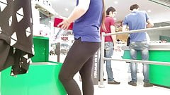 Fatty ass in tight pants