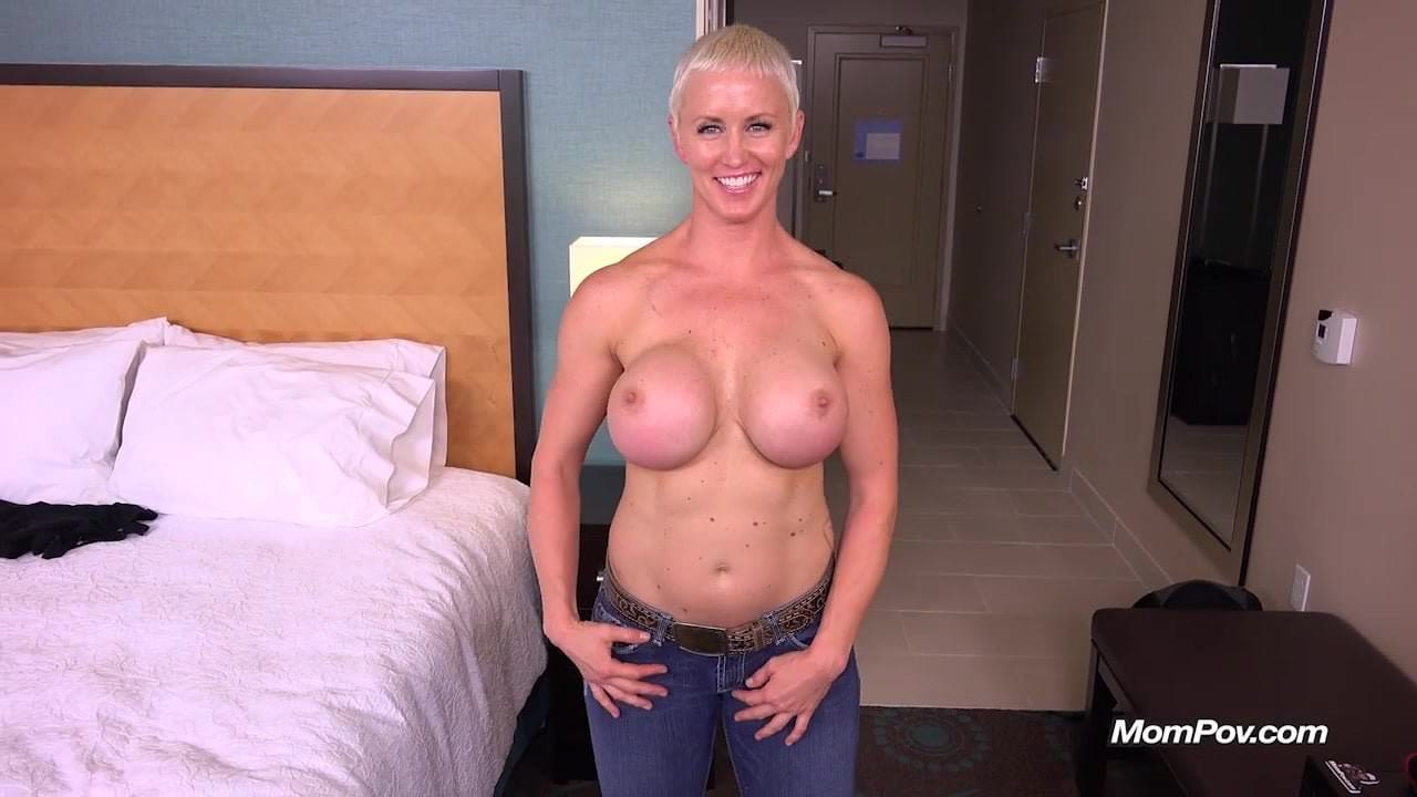 Busty Pixie Slut POV Facial on MomPov