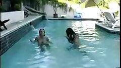 A1NYC Big Boob Lesbians in the pool