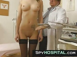 Spy cam at obgyn clinic very kinky