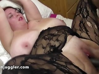 A Big black cock going in a tight white pussy
