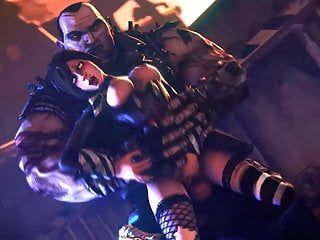 Borderlands 3D Hentai Mad Moxxi Getting Fucked by Brick