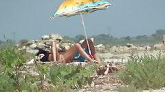 beach dark hair's Thumb