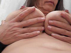 Busty Tina - The breast massage