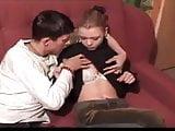 SB3 Giving His Nervous stepsister Her First Taste Of Cock !