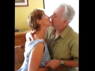 Mature couple of exhibitionists