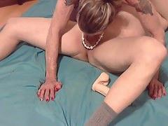 Bobbie sucking more cock