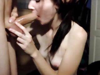 Lustful Girlfriend Deepthroats Hard Boner