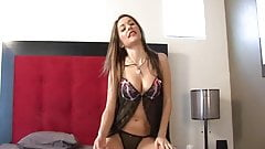 Brunette Teen Drills Her Pussy With Dildo.mp4