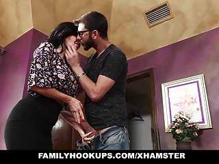 FamilyHookups - Hot Milf Teaches Stepson How To Fuck
