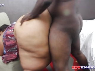 Huge Booty Ssbbw Getting Fucked By Big Black Cock