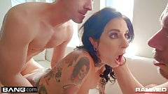 Rammed - Joanna Angel double anal DP threesome