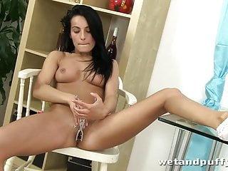 Hot brunette Lexie Dona is so damn naughty
