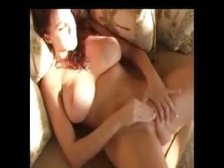 Girl with big tits pleasing herself
