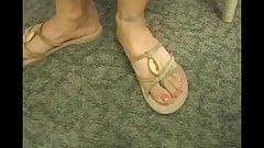 more sexy mature feet