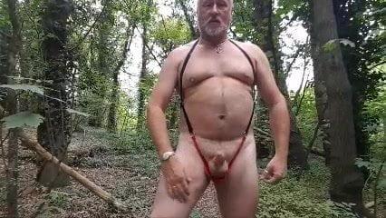 Attractive Cumshot In My Crimson Thong