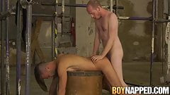 Bound sub has his ass slapped and drilled by his deviant dom