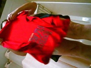 My Big Tit Mom Stripping Naked Hidden Camera Voyeur