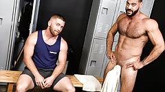 Gym Guys Enjoys Anal Sex At The Locker Room