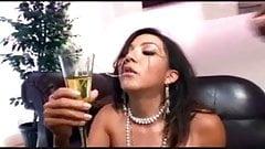 Keeani Lei - Champagne cum swallower