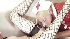 Suesse18 with blonde nurse