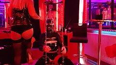 Domina MissLadyTina in her BDSM Studio